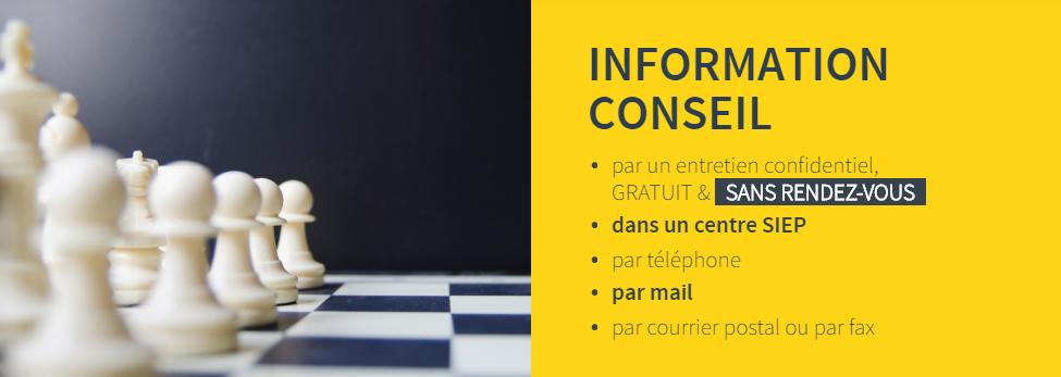 Information SIEP Bruxelles