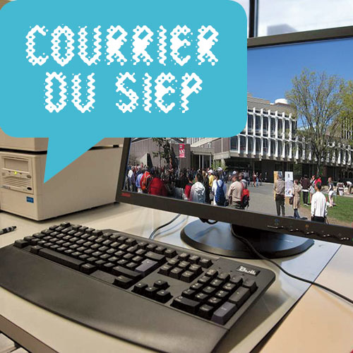 COURRIER DU SIEP : cours universitaires à distance et tables de conversation en anglais