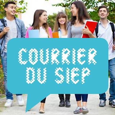 COURRIER DU SIEP : programme Erasmus+ et études après le CESS