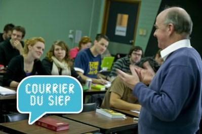 COURRIER DU SIEP : un statut d'étudiant en promotion sociale ?