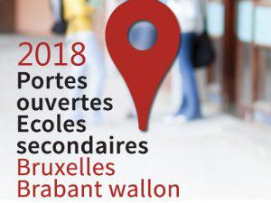 Journées portes ouvertes des écoles secondaires 2017 (Bruxelles et Brabant wallon)