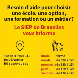 Siep Bruxelles Horaire 1