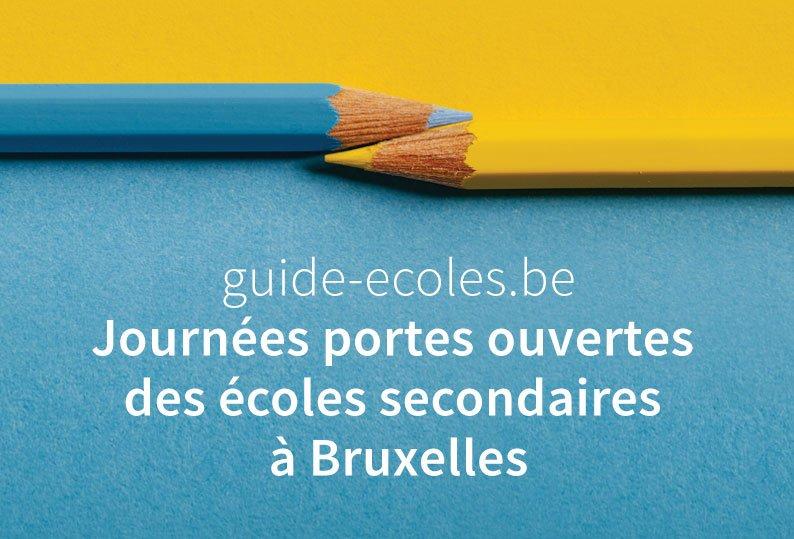 Journées portes ouvertes 2020 des écoles secondaires à Bruxelles